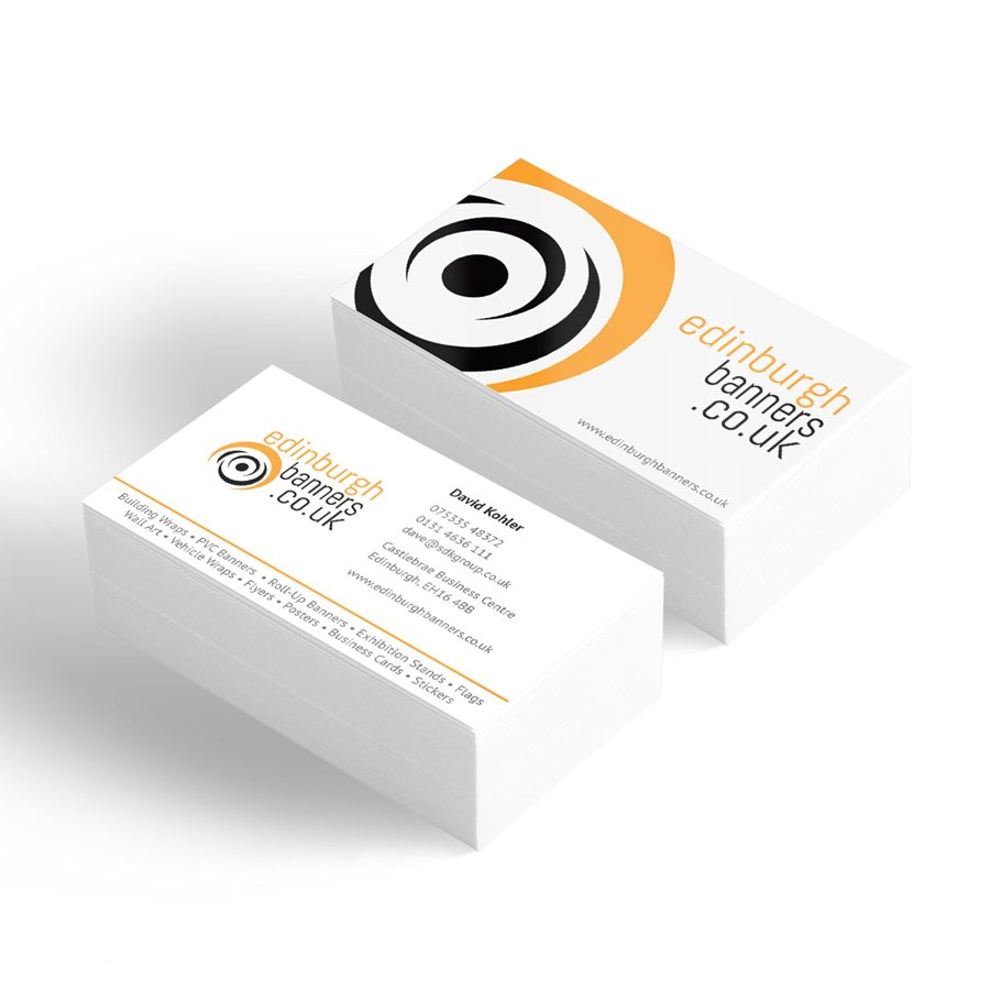 Business Cards Design & Printing Service Online from £4.00 ...