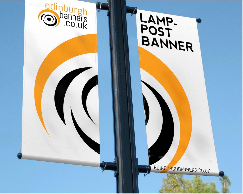 Printed Lamp Post Banners Edinburgh Banners