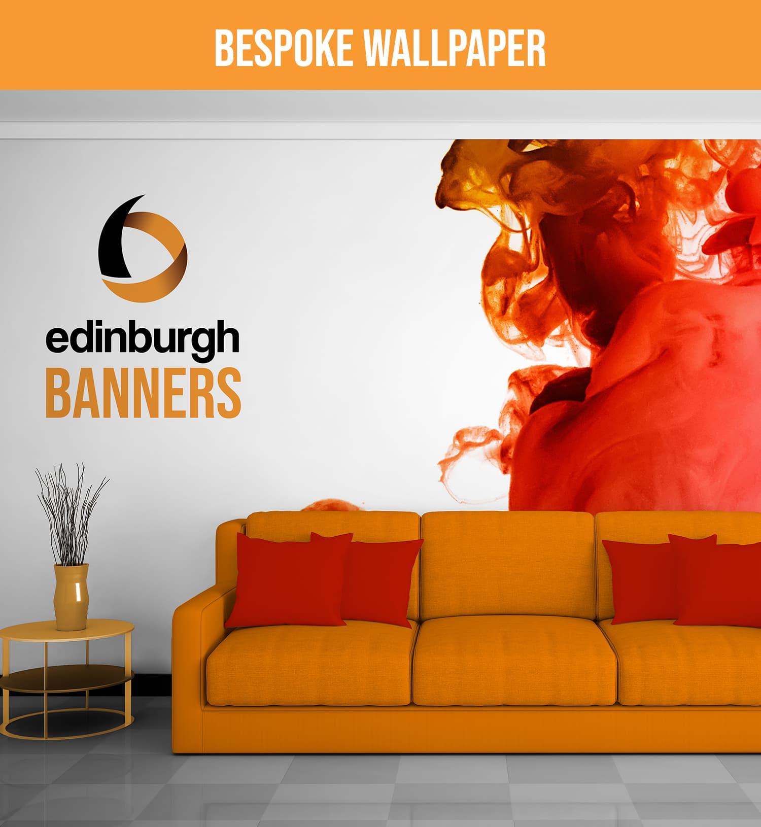 Edinburgh Banners Custom Wallpaper